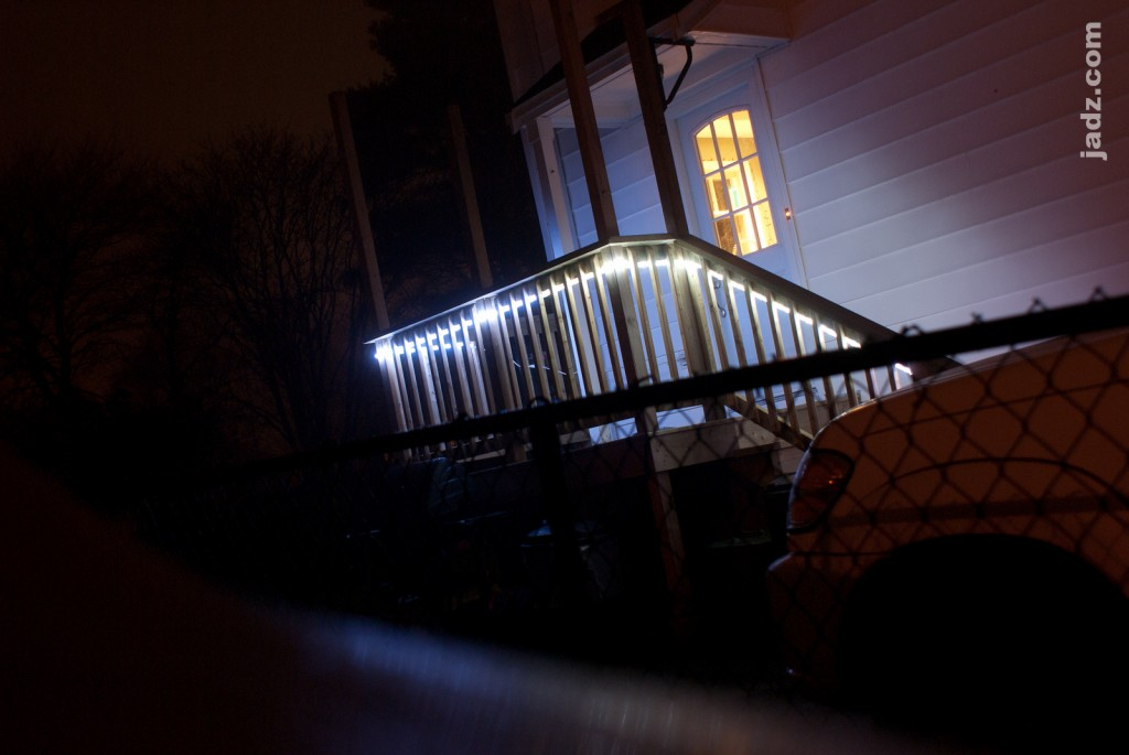 Rope Lights Outdoor Deck : Deck Lighting with LED Rope Lights jadz